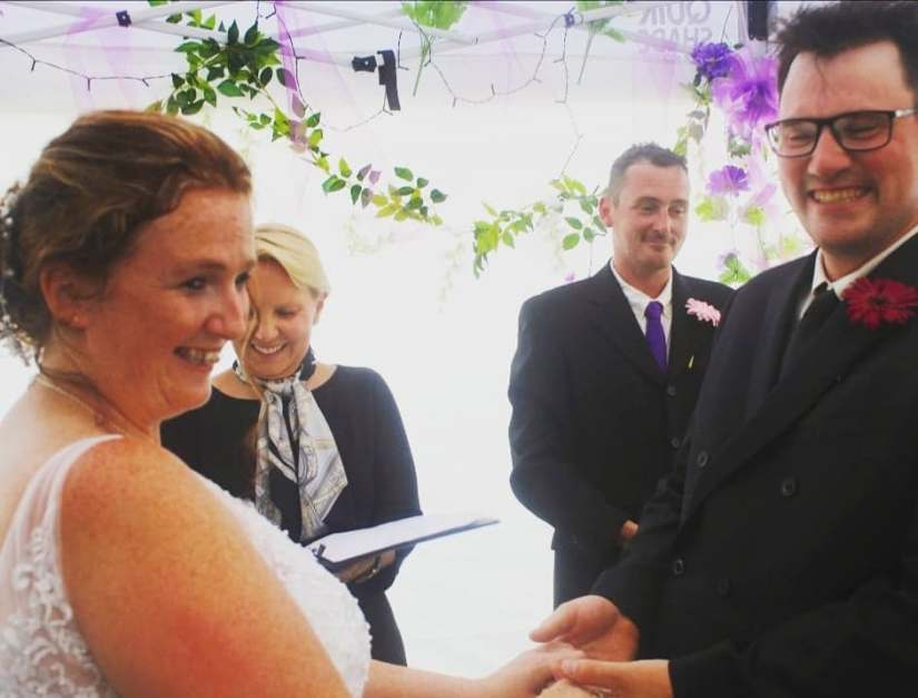 Port Hope and Cobourg Wedding Officiant for commitment ceremony, renewal of vows, marriage, elopement, handfasting