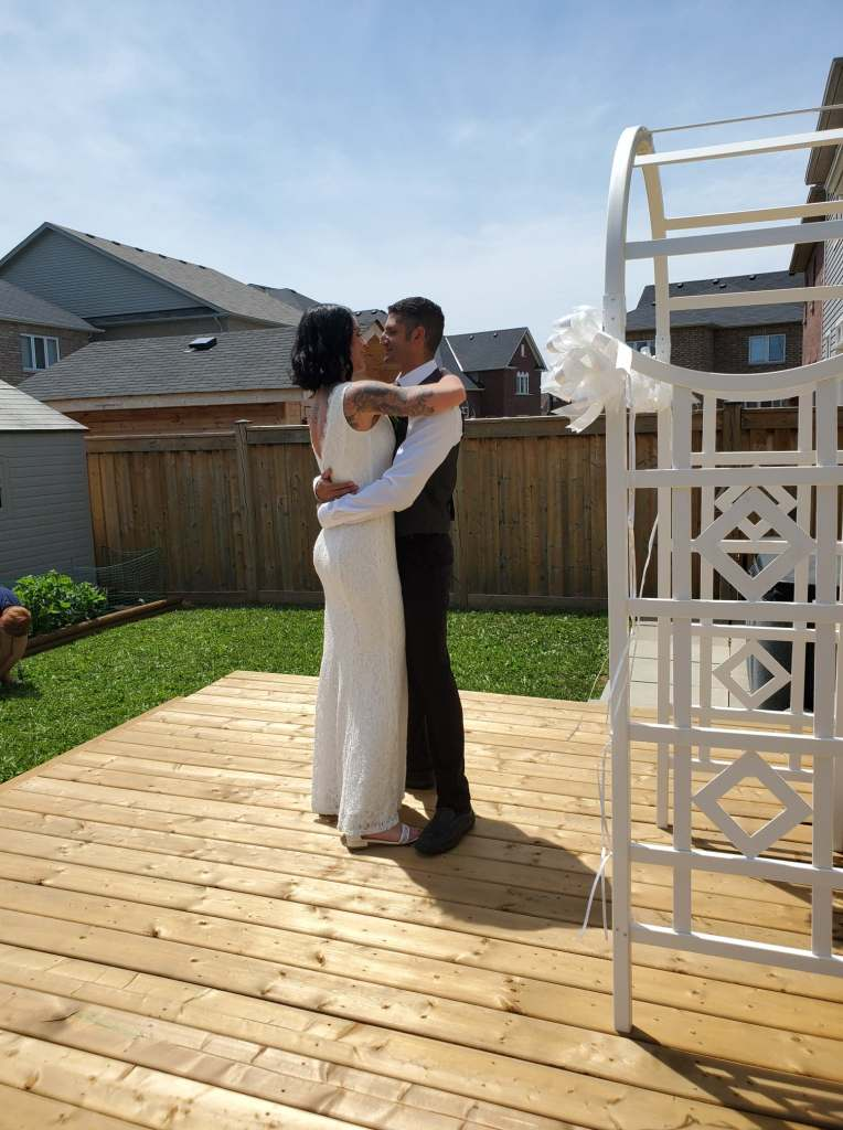 kristy-rob-july-2020-covid-mini-wedding-backyard-ceremony-officiant-planner-coodinator-micro-bowmanville-oshawa-cobourg-port-hope-peterborough-venue-florist
